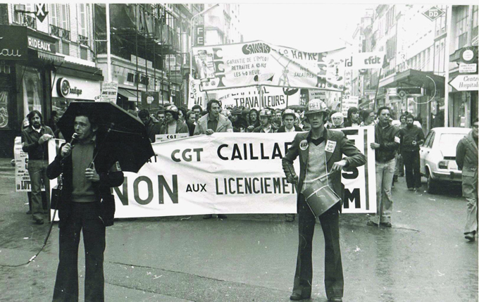 Manifestation CGT Caillard