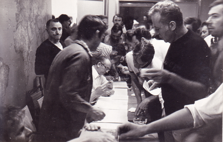 l'organisation du vote- Photo J.P.Marais