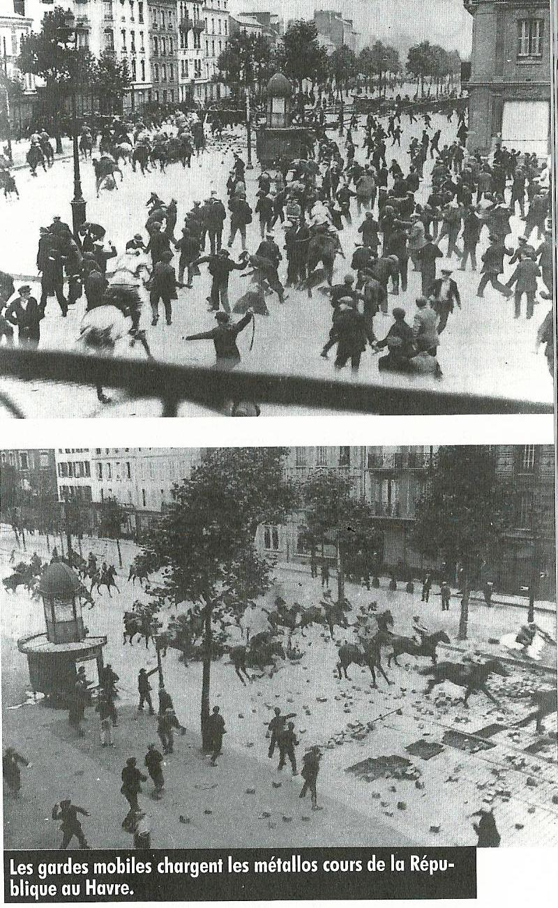 Il y a 93 ans au Havre, les 111 jours de grève des métallos!