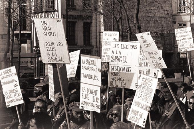 Manifestation régionale le 30 mars 1990. © IHS GGT 76