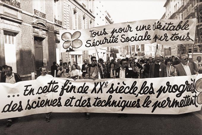Manifestation régionale le 31 mars 1990